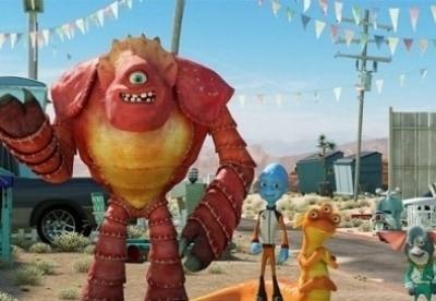 кадр из фильма Побег с планеты Земля