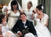 Поцелуйте невесту! 17 серия в 02:50 на канале