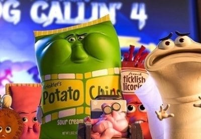 кадр из фильма Полный расколбас