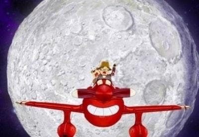 кадр из фильма Приключения красного самолетика