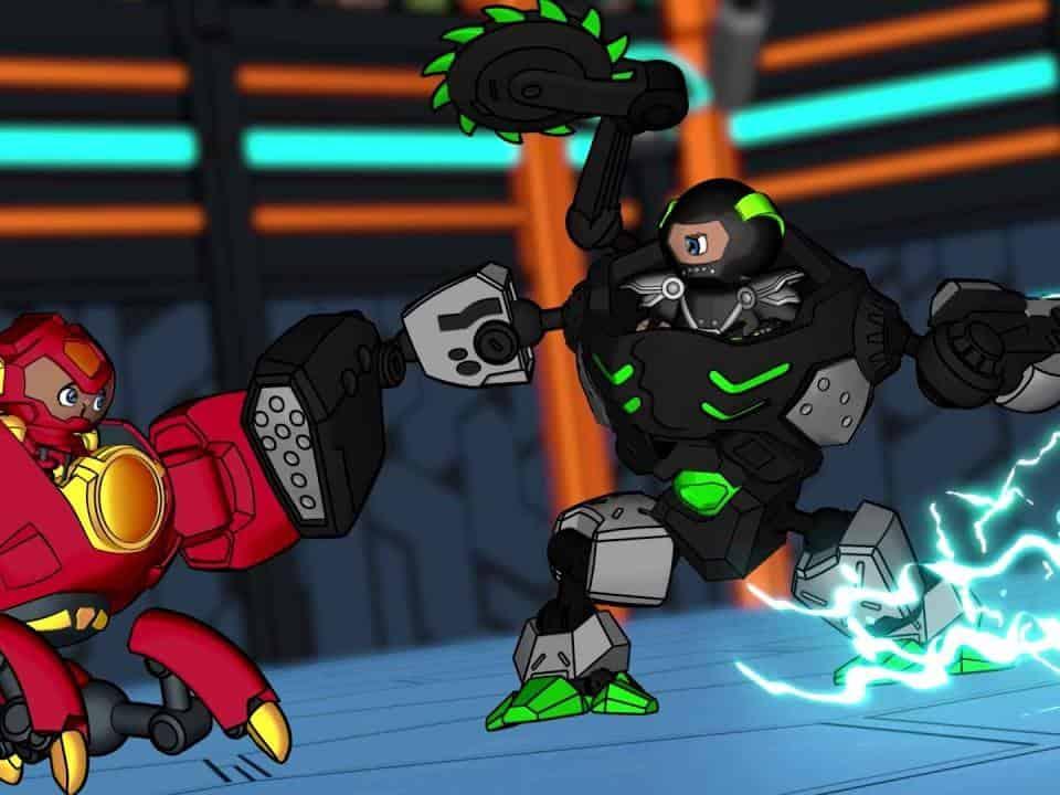 программа Карусель: Реди2Робот Монго против Танка