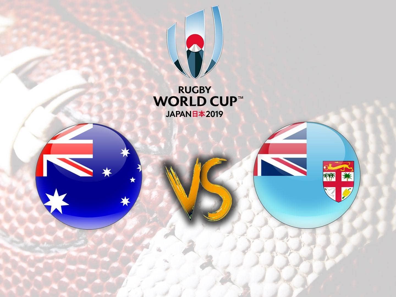 Регби Чемпионат мира Австралия Фиджи Трансляция из Японии в 16:25 на канале