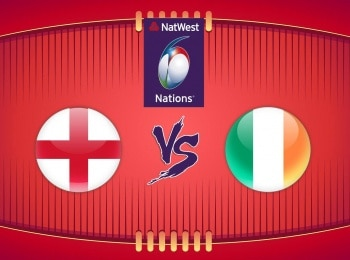 Регби Кубок Шести наций Англия — Ирландия в 09:15 на канале Матч! Игра