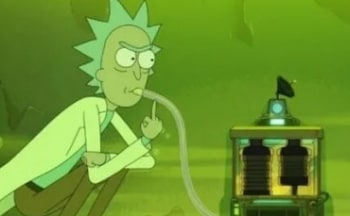 программа 2х2: Рик и Морти Эпизод с чаном кислоты