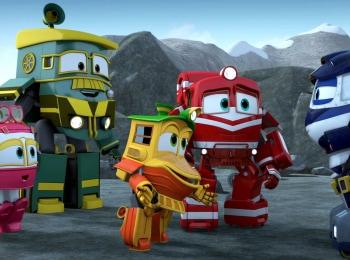 программа Карусель: Роботы поезда Сборник 52 й