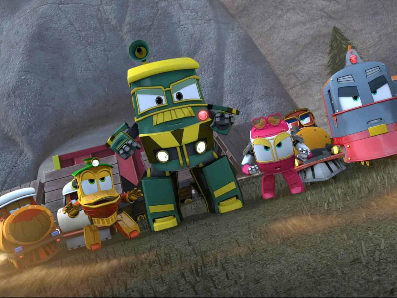 Роботы поезда Тёплое изобретение в 11:05 на канале