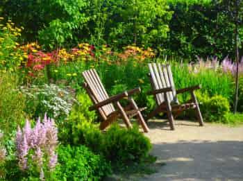 программа Загородная жизнь: Сад мечты Создание малого сада