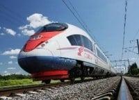 Самый быстрый поезд России в 16:00 на канале