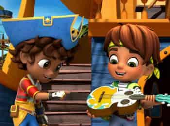 программа Nick Jr: Сантьяго и его моря Спасательная операция Сантьяго и Бонни / Неразбериха с компасом