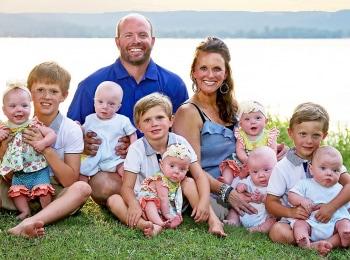программа TLC: Шесть младенцев в доме Кувырки и торнадо