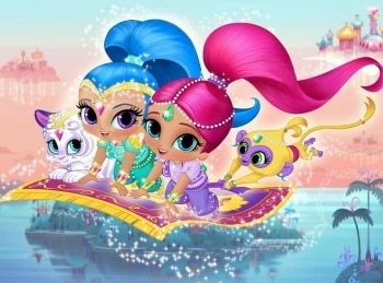 программа Nickelodeon: Шиммер и Шайн Самира и Зита / Прикосновение Зиты