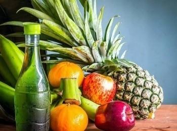 программа Здоровое ТВ: Сила еды Лосось с абрикосовыми косточками и карамелизованными яблоками