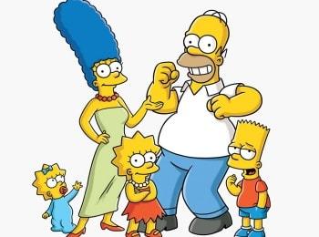 Симпсоны Барт-портящий флаг