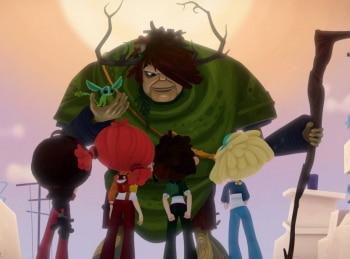 программа Карусель: Сказочный патруль Подарок подземелья