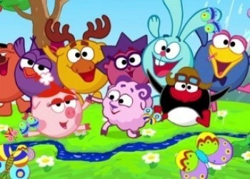 программа Детский мир: Смешарики Космическая одиссея Эпизод 1 й