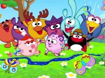 программа Детский мир: Смешарики Лунный заяц 2