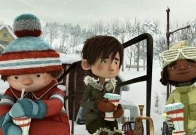 кадр из фильма Снежная битва