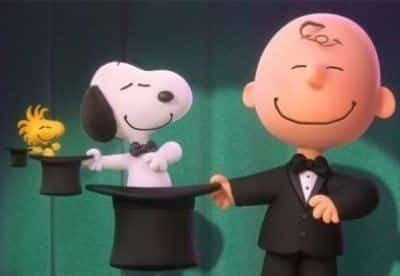 кадр из фильма Снупи и мелочь пузатая в кино