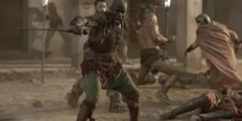 программа Sony Turbo: Спартак: Кровь и песок Сезон 1 й 13 серия Убей их всех