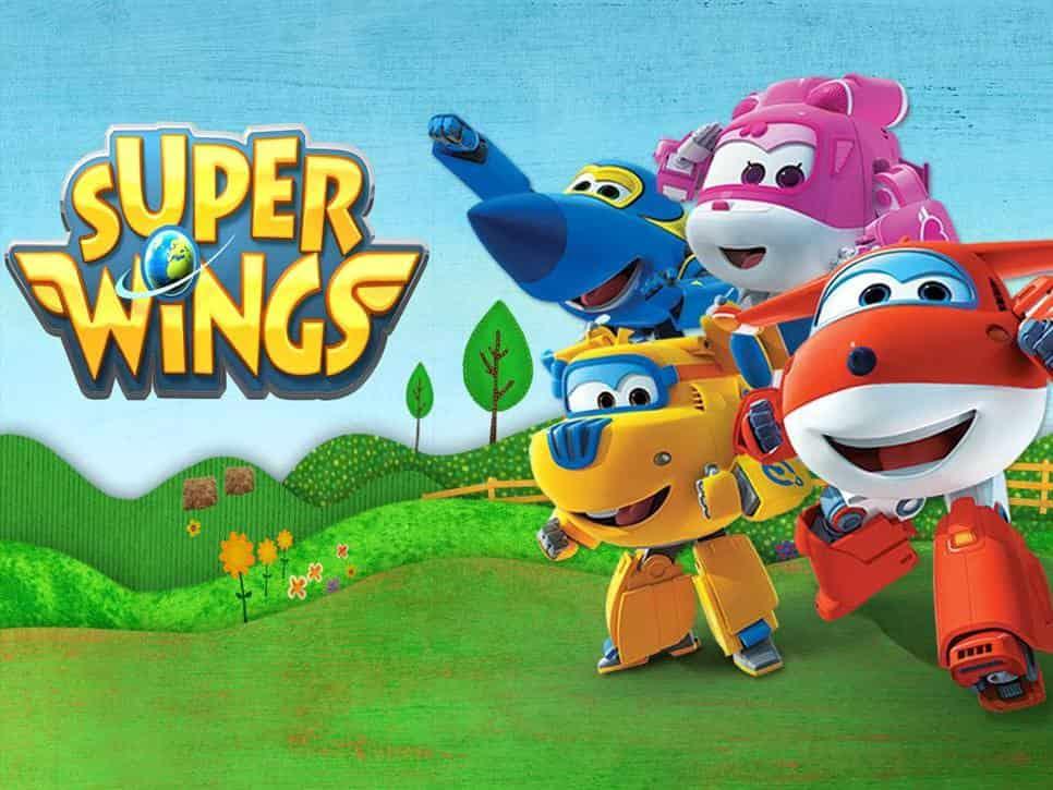 программа Карусель: Супер Крылья: Джетт и его друзья Динозавр на магните