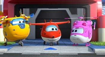 программа Карусель: Супер Крылья: Джетт и его друзья Прогулка под дождем