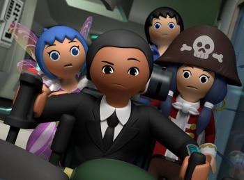программа Карусель: Суперчетвёрка Коробка с игрушками