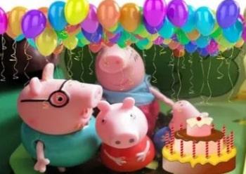 программа Карусель: Свинка Пеппа День рождения мамы Свинки