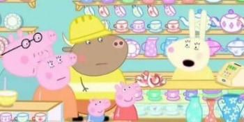 программа Nick Jr: Свинка Пеппа Мистер Пугало