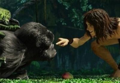 кадр из фильма Тарзан
