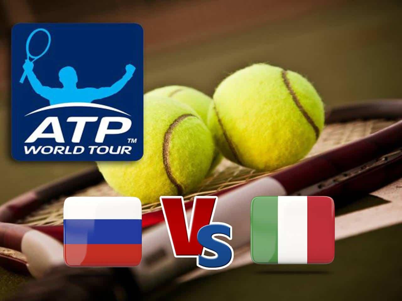 Теннис Кубок АТР Россия Италия Трансляция из Австралии Прямая трансляция в 12:30 на канале
