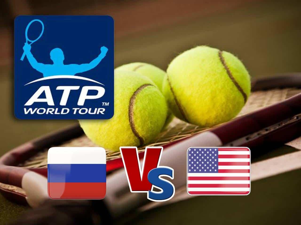 Теннис Кубок АТР Россия США Трансляция из Австралии Прямая трансляция в 12:30 на канале