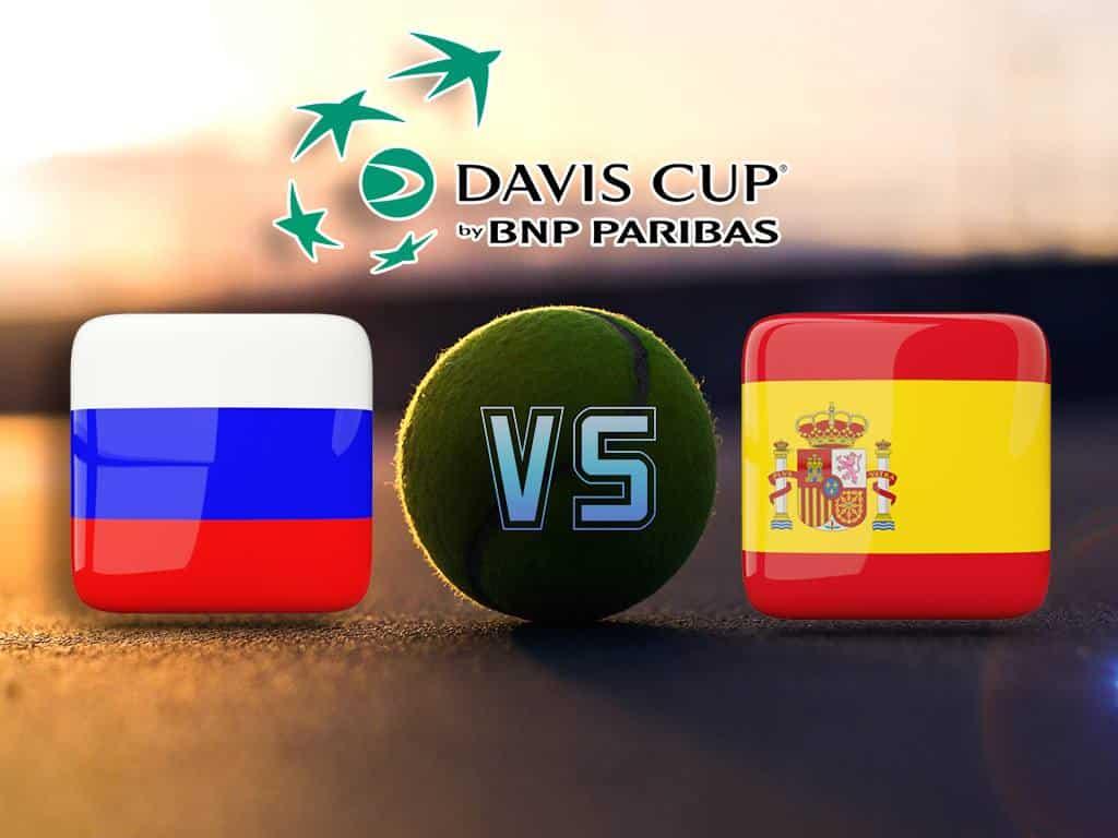 Теннис Кубок Дэвиса Россия Испания Трансляция из Испании в 11:40 на канале Игра