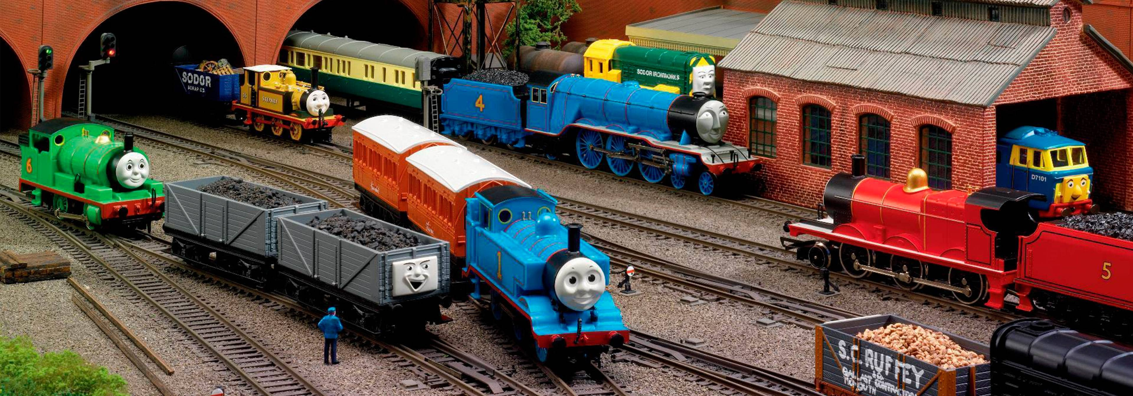 Томас и его друзья Гараж для Эдварда