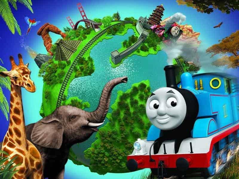 программа Карусель: Томас и его друзья Кругосветное путешествие! Отличная команда