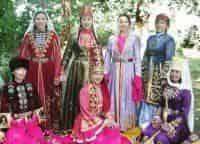 Традиционный ногайский костюм