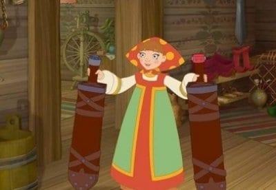 кадр из фильма Три богатыря и Морской царь