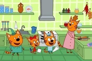 программа СТС love: Три кота 151 серия