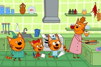 программа СТС love: Три кота 152 серия