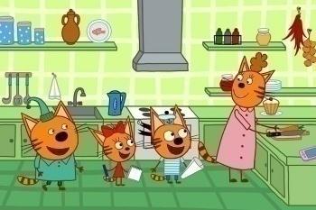 программа СТС love: Три кота 154 серия