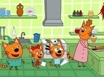 программа СТС: Три кота Каша на завтрак