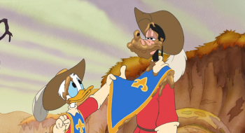 Три мушкетера: Микки, Дональд, Гуфи кадры