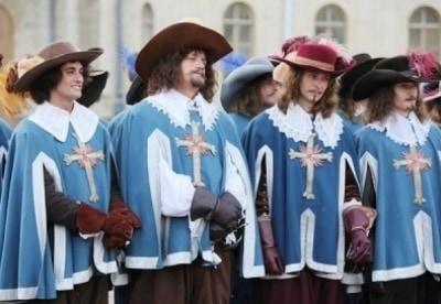 кадр из фильма Три мушкетёра