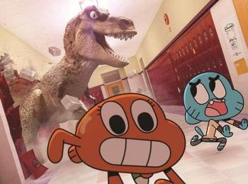 Удивительный мир Гамбола 12 серия в 16:00 на Cartoon Network