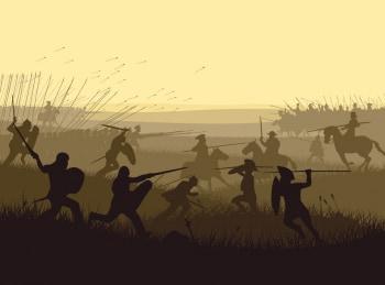 программа History2: Величайшие сражения древности Цезарь Великая осада