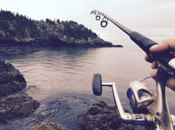 программа Охотник и рыболов: Видеокарта уловистых мест России Подледная рыбалка на карельских озерах