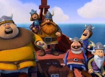 программа Карусель: Вик: маленький викинг Чистюля Снорре