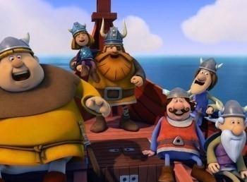 программа Карусель: Вик: маленький викинг Фэкс и кит