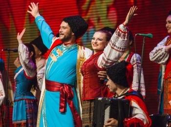 Виктор Захарченко и Государственный академический Кубанский казачий хор в 13:40 на Россия Культура