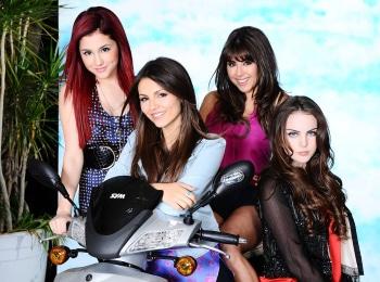 программа Nickelodeon: Виктория победительница Вай фай в небе