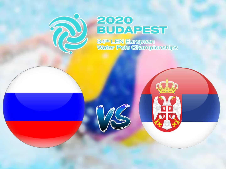 Водное поло Чемпионат Европы Мужчины Россия Сербия Трансляция из Венгрии Прямая трансляция в 19:00 на канале